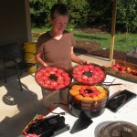 Jill Drying Tomatoes